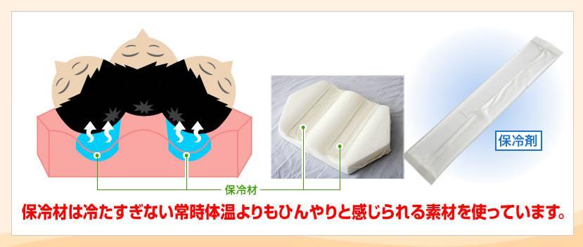 六角脳枕(ろっかくのうまくら) 保冷材